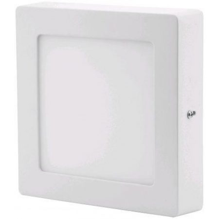 ALU LED nadgradni panel kvadratni 6W nevtralno bela 4000K