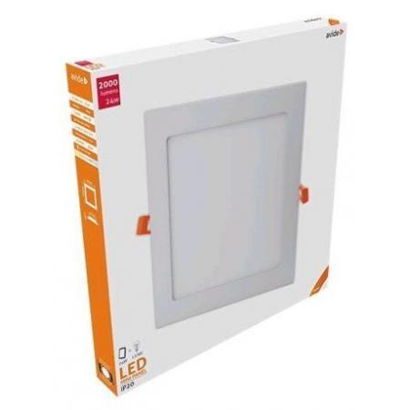 ALU LED vgradni panel kvadratni 24W nevtralno beli 4000K