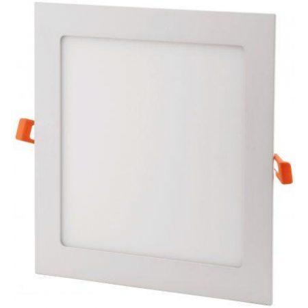 ALU LED vgradni panel kvadratni 6W nevtralno beli 4000K