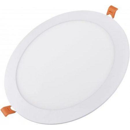 ALU LED vgradni panel okrogli 12W nevtralno beli 4000K