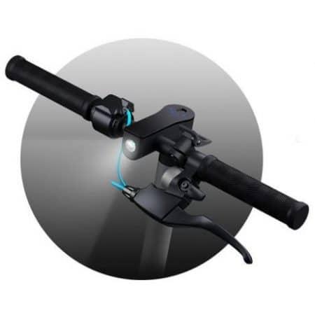 Električni skiro Motus Scooty 8.5 z velikimi kolesi, LCD LED zaslonom, tempomatom in disk zavoro 36V 7800 mAh do 25km/h rdeč