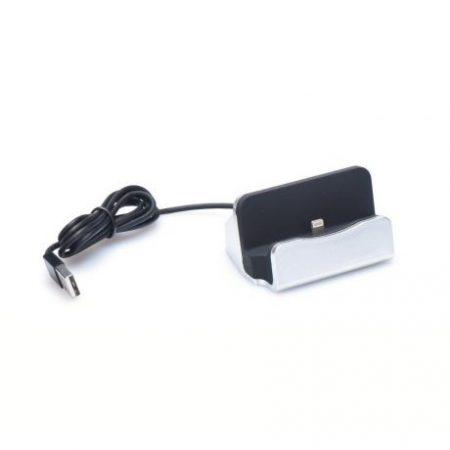 Univerzalna priklopna postaja za Apple z lighting konektorjem srebrna