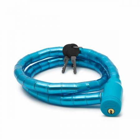 Ključavnica za kolo 18mm 100cm modra