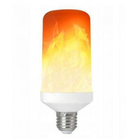 LED žarnica - sijalka E27 plamen 5W  E27