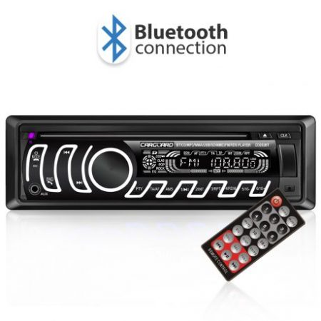CD/MP3 avtoradio z Bluetooth, FM tuner, USB, SD, AUX z RGB LED osvetlitvijo