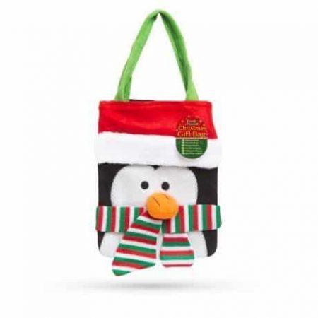 Darilna torba - 3D pingvin velikosti 24 x 20 cm