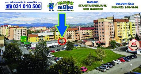 megamiska lokacija