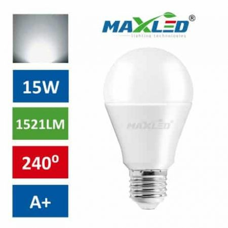 LED žarnica - sijalka E27 15W (100W) 1521lm nevtralno bela 4500K