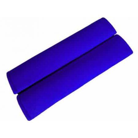 Zaščita za varnostni pas iz velurja na ježka 30x6cm 2 kosa modra