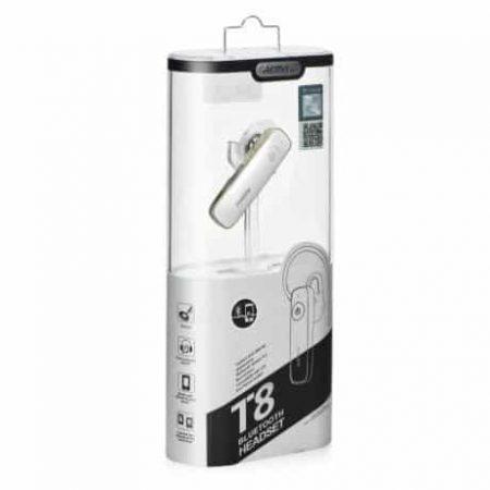 Bluetooth slušalka za prostoročno telefoniranje REMAX bela