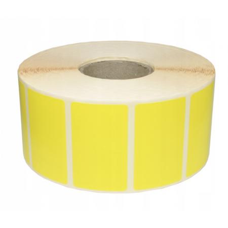 Nalepke termične barvne 32x25mm 2000 kos rumene