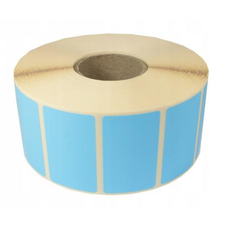 Nalepke termične barvne 32x25mm 2000 kos modre
