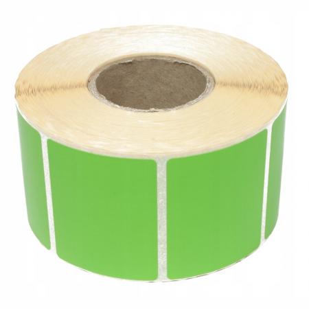 Nalepke termične barvne 40x30mm 2000 kos zelene