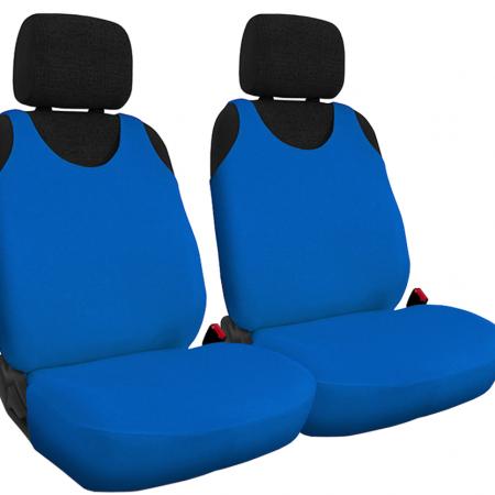 T-shirt avtoprevleke za sprednje sedeže iz bombaža modre