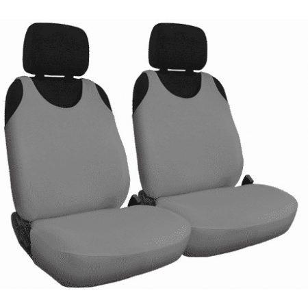 T-shirt avtoprevleke za sprednje sedeže iz bombaža sive