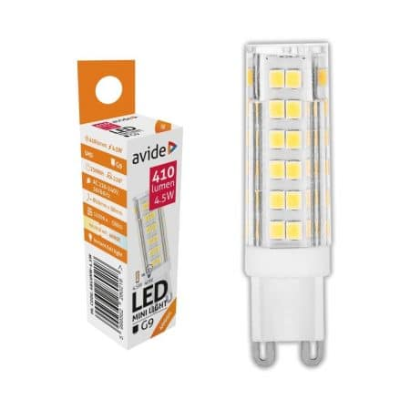 LED žarnica - sijalka G9 4.5W 220V nevtralno bela 4000K