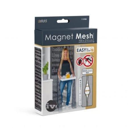 Magnetna zavesa proti komarjem za vrata 100 x 210 cm časopis