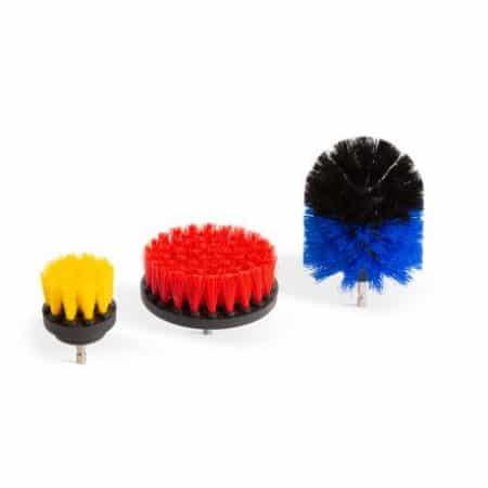 Set čistilnih krtač za vrtalnik - 3 kos / set