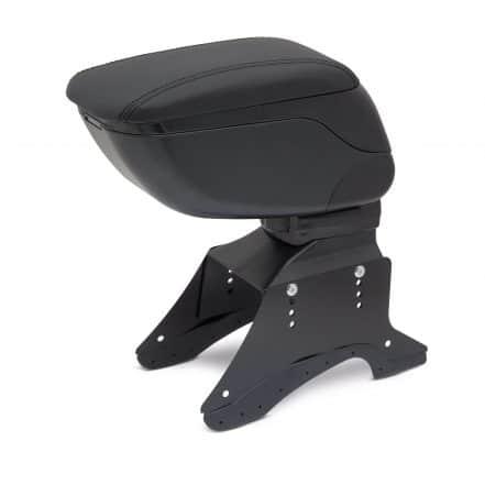Univerzalni avtomobilski naslon za roke s predalom - črn