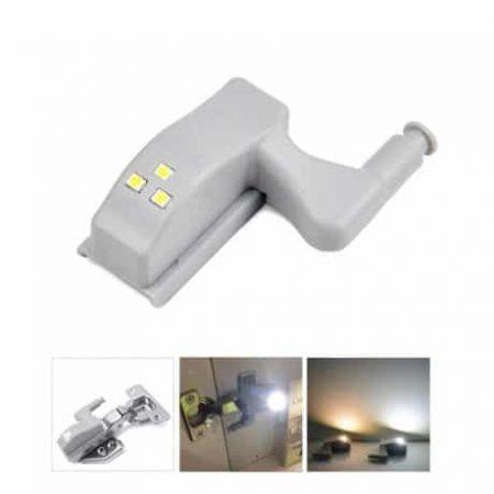Tečajna svetilka 3 LED za omare