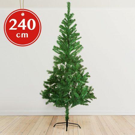 Umetno božično drevo s kovinskim stojalom - 240 cm