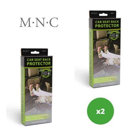 2x PVC ščitnik za hrbtno stran sedeža - prozoren