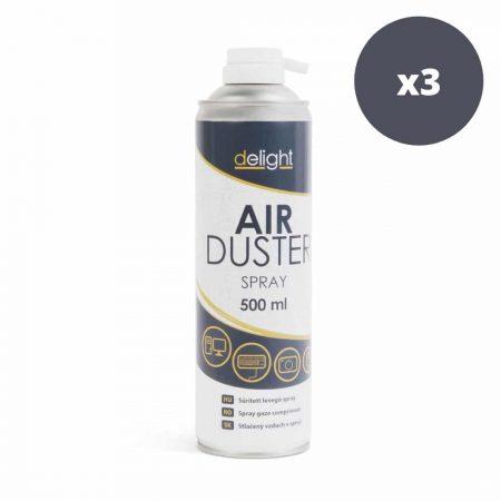 3x stisnjen zrak v spreju – 500 ml