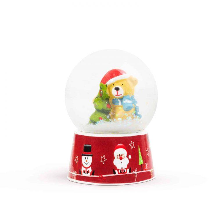 Božična snežna krogla - 4 vrste