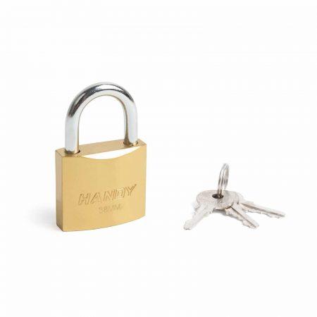Ključavnica - obešanka - 38 mm, Ø6 mm