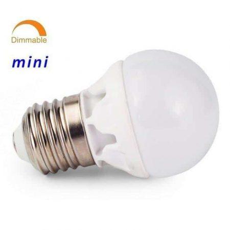 LED žarnica - sijalka zatemnilna E27 6W 3000K toplo bela