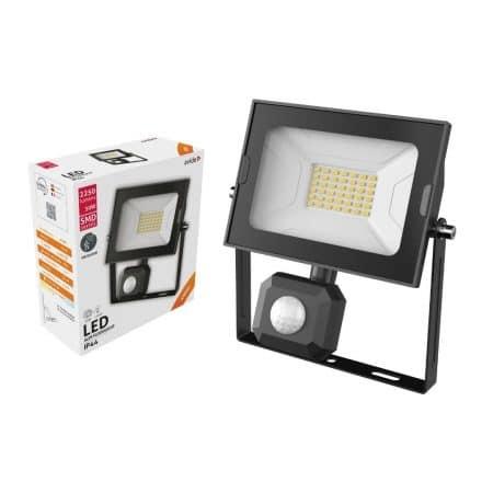 SMD LED reflektor 30W slim nevtralno bel 4000K s senzorjem