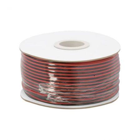 Kabel za zvočnike ali LED razsvetljavo 2 x 0,75 mm² - 100 m / zvitek