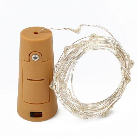 LED lučke na baterije za v steklenico