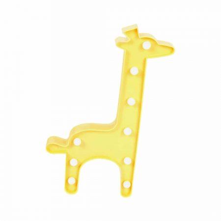 LED žirafa na baterije