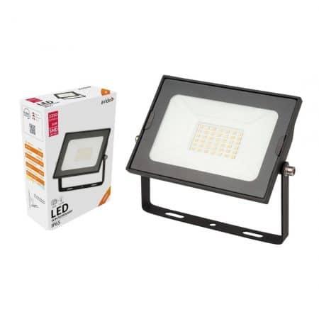SMD LED reflektor 30W slim nevtralno bel 4000K