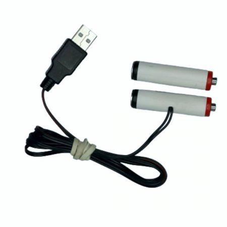 USB nadomestek baterij 2xAA R6 3V 500mA