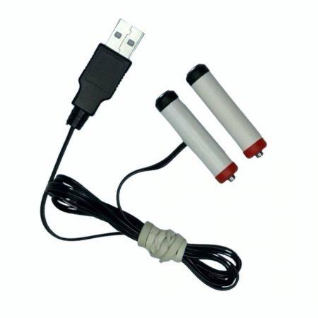 USB nadomestek baterij 2xAAA R3 3V 500mA