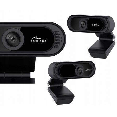USB spletna kamera z mikrofonom 1280 x 720 črna