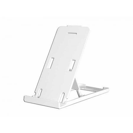 Belo stojalo za telefon in tablični računalnik