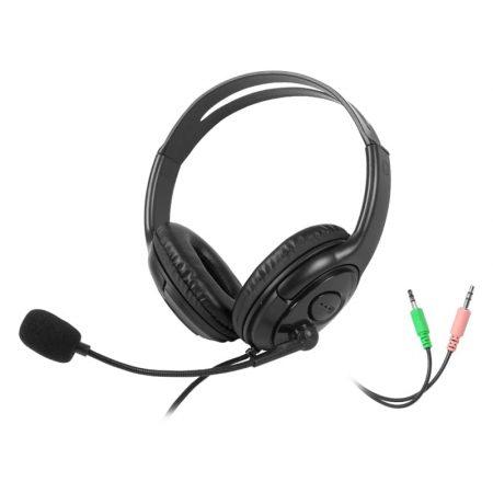 Moggto naglavne računalniške slušalke z mikrofonom