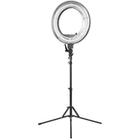 Obročasta LED svetilka za TikTok, selfie, ličenje + stojalo 220cm 3000-6500K