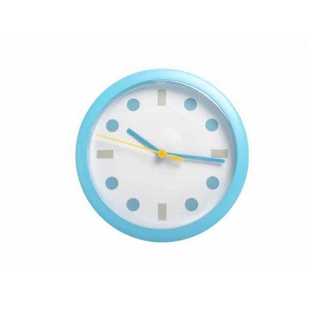 Stenska ura modra okrogle pike LUMIXA