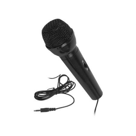 Žični karaoke mikrofon s 3,5-milimetrskim vmesnikom mini jack