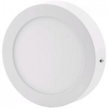 ALU LED nadgradni panel okrogli 18W nevtralno bela 4000K