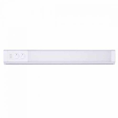 LED kotna linearna svetilka z dvojno vtičnico 10W bela