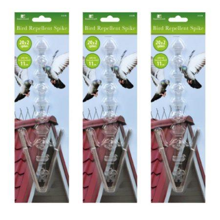 Odganjalnik ptic in golobov - 3x20 konic, 6 podstavkov - 250 x 22 x 110 mm (Copy)
