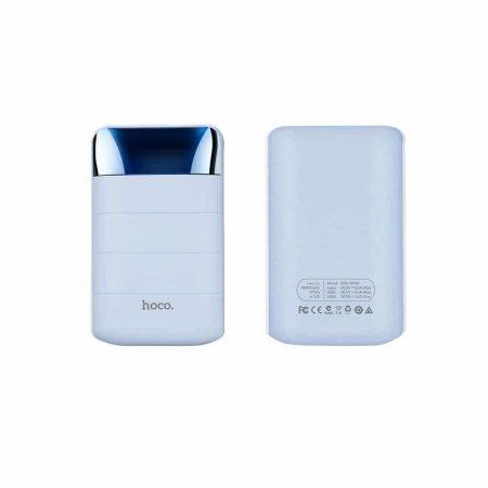 Powerbank prenosna baterija HOCO 10.000mAh z LCD zaslonom modra