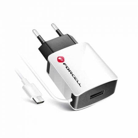 Hišni polnilec 2A 1x USB + kabel