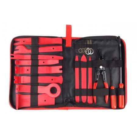 Komplet za odstranjevanje oblazinjenja / demontažo radija 19 kosov v torbici