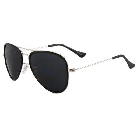 Sončna očala Eclipse mat srebrni okvir z UV zaščito